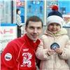 Евгений Устюгов вбросил шайбу наматче «Сокола» (видео)