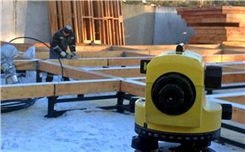 Фоторепортаж: Строим загородный дом