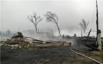 Хакасия после пожара. Хроника 13апреля