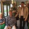 Мэр Красноярска проверил работу автобусов ипообщался спассажирами (видео)