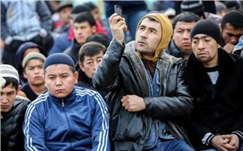 Фоторепортаж: Красноярский Курбан-байрам