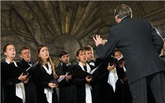 Камерный хор Смольного собора покорилКрасноярск