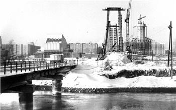 Фотоистория: Как строили Виноградовский мост