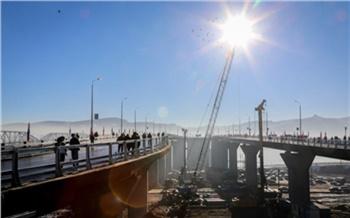 Фоторепортаж: Как открывали четвертый мост