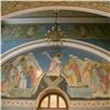 Вкрасноярском храме расписали стены ввизантийском стиле