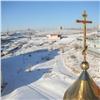 Накупола храма вкрасноярском Солнечном установили кресты