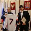 Губернатор поздравил красноярских хоккеистов спобедой начемпионате мира