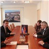 Эдхам Акбулатов обсудил сделегацией FISU подготовку к Универсиаде