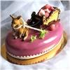Красноярский художник подарил Борису Гребенщикову торт с«мухоморами»