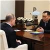 Глава Тувы рассказал президенту опромышленном росте исокращении доходов жителей