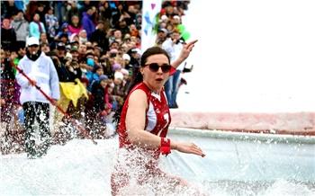 Лучшие фото недели: Глушков и мокрые лыжницы