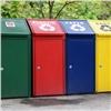 Вкрасноярских дворах появляются контейнеры для раздельного сбора мусора