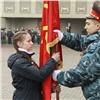 Школьники пронесут копии знамен красноярских воинских частей нашествии 9Мая
