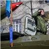 ВКрасноярске состоялось шествие вчесть Дня Победы
