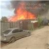 Вцентре Красноярска горел частный дом