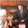 Мэр поздравил красноярскую труженицу тыла с90-летием