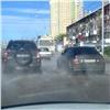 Из-за коммунальной аварии вКрасноярске изменилась схема движения автобусов