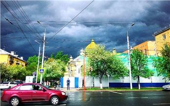 Репортаж изсоцсетей: Как накрыло Красноярск