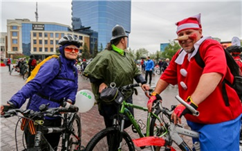 Фоторепортаж: Первый красноярский велопарад
