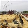 Начался монтаж металлоконструкций нового терминала красноярского аэропорта