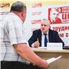 Лидер «Справедливой России» Сергей Миронов провел личный прием красноярцев