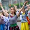ВКрасноярске отрепетировали молодежный парад вчесть Дня города