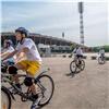 Ребята издетских домов отправились вбольшой велопробег поКрасноярскому краю