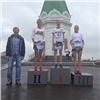 250 спортсменов пробежали поцентральным улицам вчесть 388-летия Красноярска