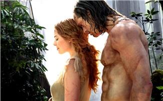 «Тарзан: Легенда»— белое начёрном