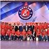 Хоккейный клуб «Енисей» наградили кубком чемпионата России
