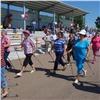 Фонд «СУЭК-РЕГИОНАМ» приобрел инвентарь для любителей скандинавской ходьбы вБородино