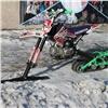 Школьники из Шушенского собрали всесезонный мотоцикл на гусеничном ходу