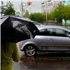 Красноярцев предупредили осильных дождях игрозах