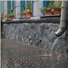 Ливень затопил красноярские улицы и пролился в ТРЦ