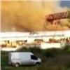 ВКрасноярске горела исправительная колония (видео)