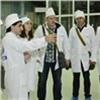Работники ЭХЗ показали журналистам производство изотопов для ядерной медицины