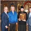 Успенскому мужскому монастырю передали вдар икону «Всецарица»
