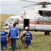 Спасатели наМи-8 доставили пострадавшего вДТП изШира вКрасноярск