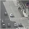 В центре Красноярска сбили велосипедиста (видео)