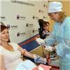 Сотрудники Красноярскэнергосбыта сдали входе марафона более 23литров крови