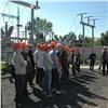 Будущие энергетики посетили один изглавных энергообъектов Красноярска
