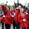 Волонтёры Дня Енисея собрали 15тонн мусора наострове Отдыха