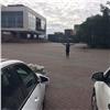 ВКрасноярске запретили парковку перед БКЗ