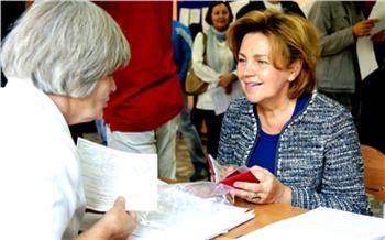Фоторепортаж: День выборов