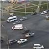 Вкрасноярском Северном произошло ДТП соскорой (видео)