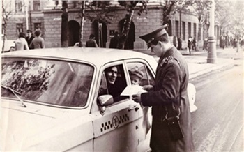 Фотоистория: как работала красноярская ГАИ вСССР
