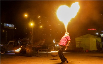 Фоторепортаж: Огонь, мечи икаскадёры