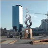Вцентре Красноярска появился постамент нового памятника