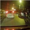 Направобережье Красноярска сбили пьяную девушку-пешехода (видео)
