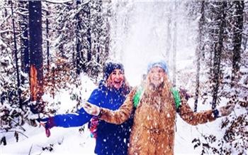 Репортаж изсоцсетей: «Столбы», снеговики ибелки